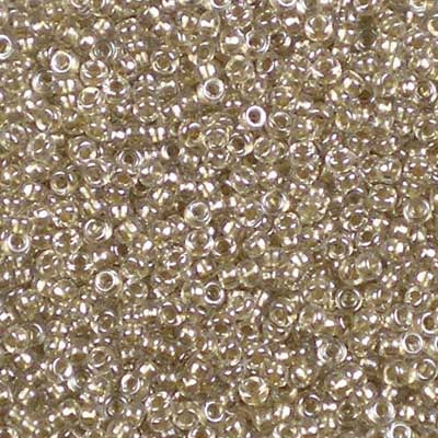 15-1521 Sparkling Beige-lined Crystal - Miyuki 15/0 Seed Beads