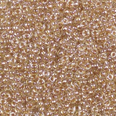 15-1522 Sparkling Honey Beige-lined Crystal - Miyuki 15/0 Seed Beads