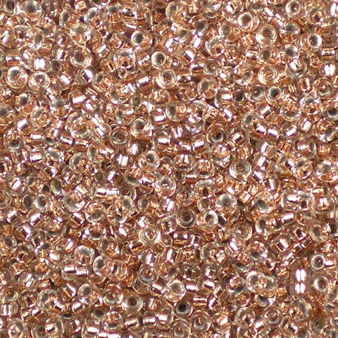 15-0197 Copper-Lined Crystal - Miyuki 15/0 Seed Beads