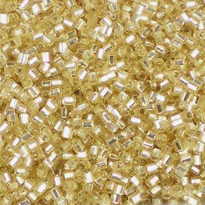 15C-0003 Silver-Lined Gold - Miyuki 15/0 Hex-Cut Seed Beads