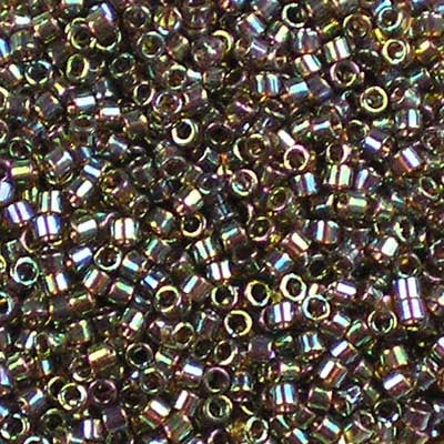 DB-0122 Root Beer Gold Lustre - Miyuki 11/0 Delica Beads