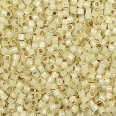 DB-1451 Opal Silver-Lined Pale Cream - Miyuki 11/0 Delica Beads