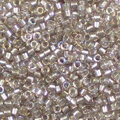 DB-1772 Sparkle Pewter-Lined Crystal AB Miyuki 11/0 Delica Beads