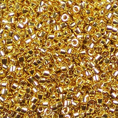 DB-0031 24kt Gold-Plated (2g) - Miyuki 11/0 Delica Beads