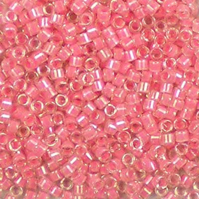 DB-0070 Coral-Lined Crystal AB Miyuki 11/0 Delica Beads