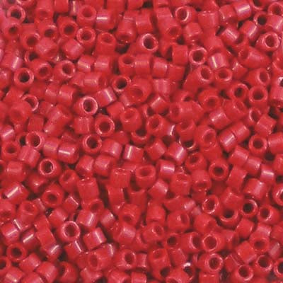 DB-0723 Opaque Red - Miyuki 11/0 Delica Beads