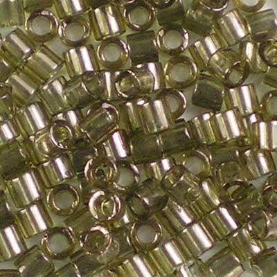 DBL-0123 Smoky Olive Lustre - Miyuki 8/0 Double Delica Beads