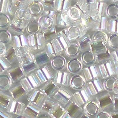 DBL-0051 Crystal AB - Miyuki 8/0 Double Delica Beads