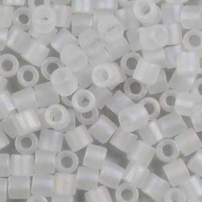 DBL-0851 Matte Crystal AB - Miyuki 8/0 Double Delica Beads