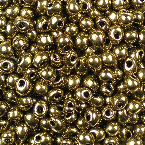 DP- 0457 Metallic Dark Bronze Miyuki 3.4mm Drop Beads