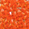 Sun - 4mm Preciosa Czech Glass Bicone Beads