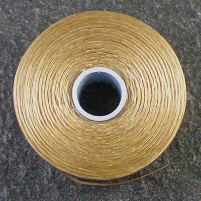 Light Brown - S-Lon / C-Lon Size D Thread