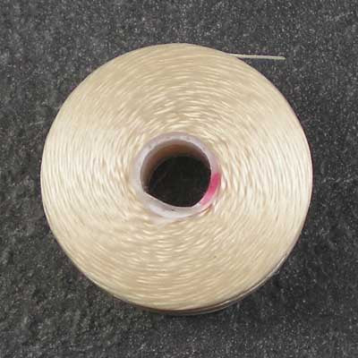 Cream - S-Lon / C-Lon Size D Thread