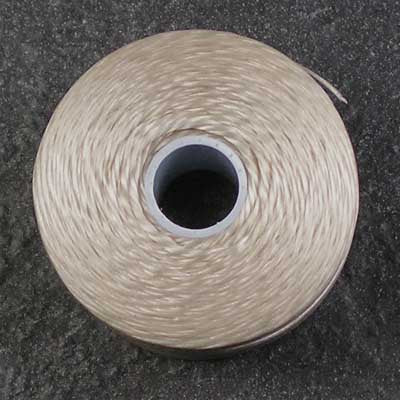 Dark Cream - S-Lon / C-Lon Size D Thread
