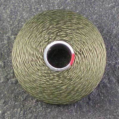 Olive Green - S-Lon / C-Lon Size D Thread