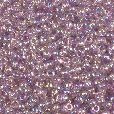Frosted Sugar Plum Purple Toho Japanese Seed Beads 10g Size 15//0 1.5 mm