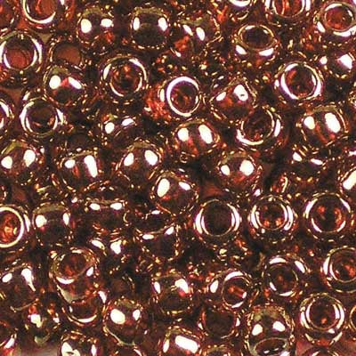 6-0329 Gold-Lustered African Sunset - Toho 6/0 Seed Beads