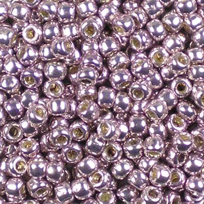 8-PF0554 Permanent Finish Galvanized Lavender - Toho 8/0 Seed Beads