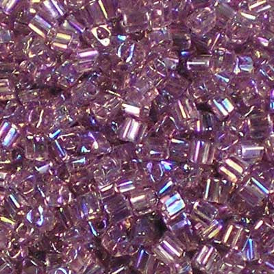 TG11-0166 Light Amethyst Rainbow - Toho 11/0 Triangle Beads