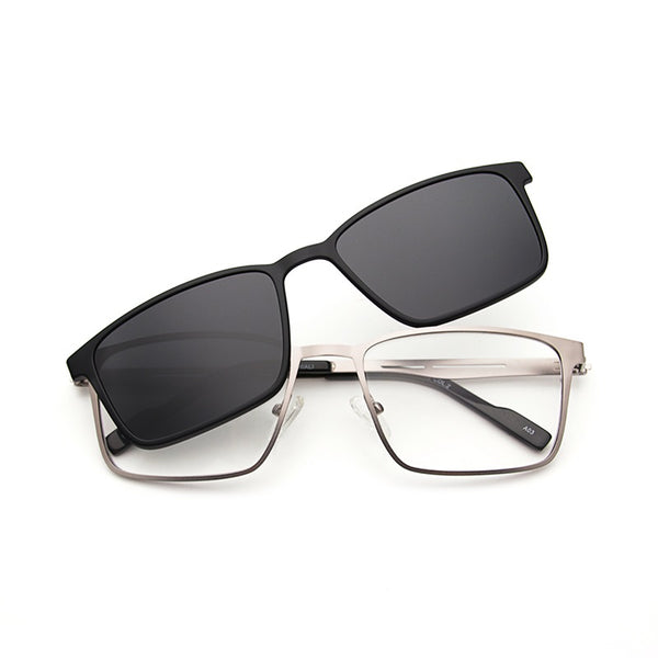DVEyewear Optics Magnetic Clip On | BLACK/GUN