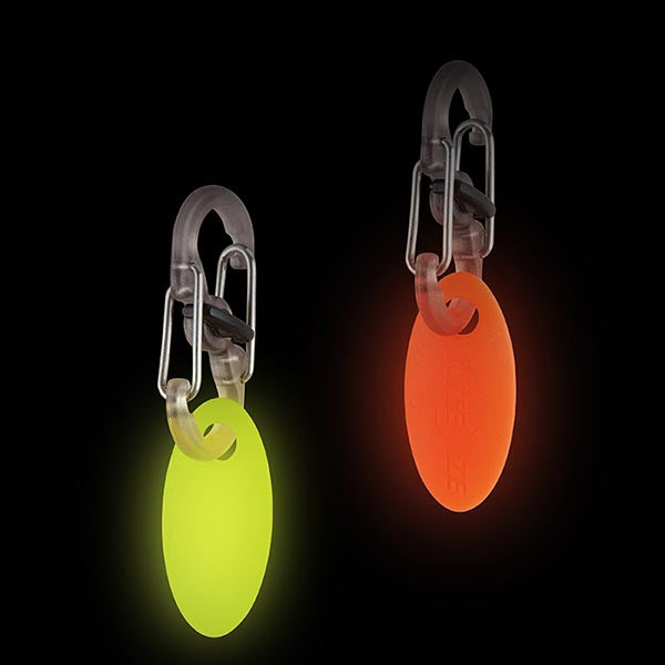 NextGlo Key Id Tag Orange/Yellow