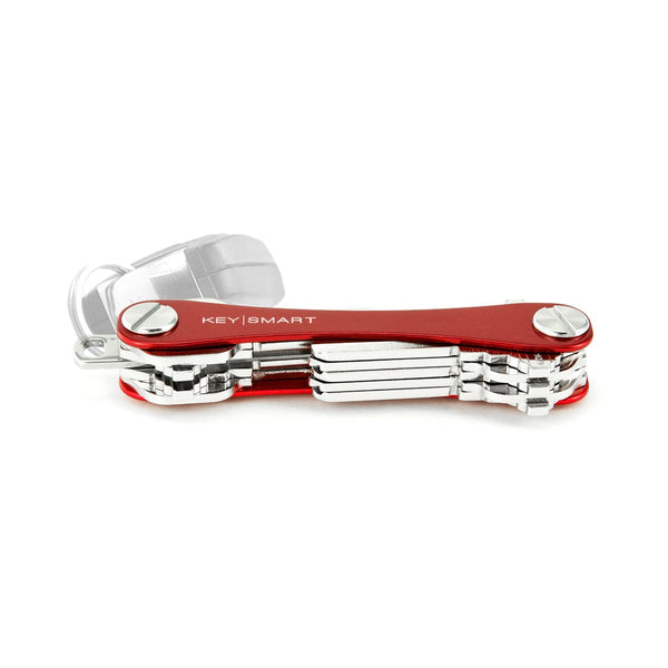 Compact Key Holder, Aluminum (Up to 8 Keys, Red) | Red