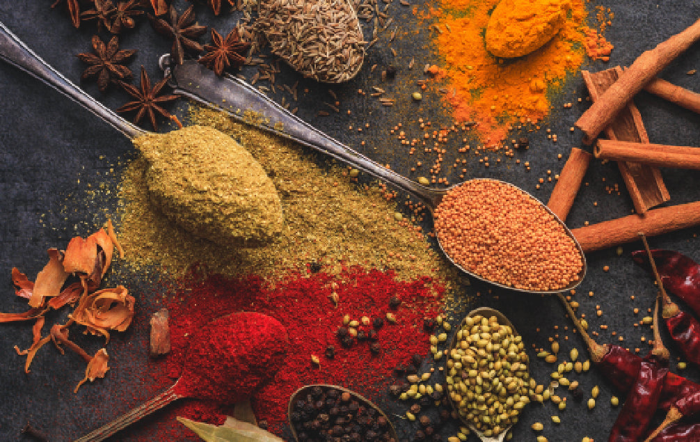 TOP 5 AYURVEDIC SPICES FROM YOUR GRANDMA'S KITCHEN TO BOOST YOUR IMMUNITY NATURALLY!