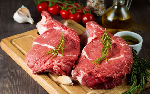 Collagen-rich foods for skin - Meat
