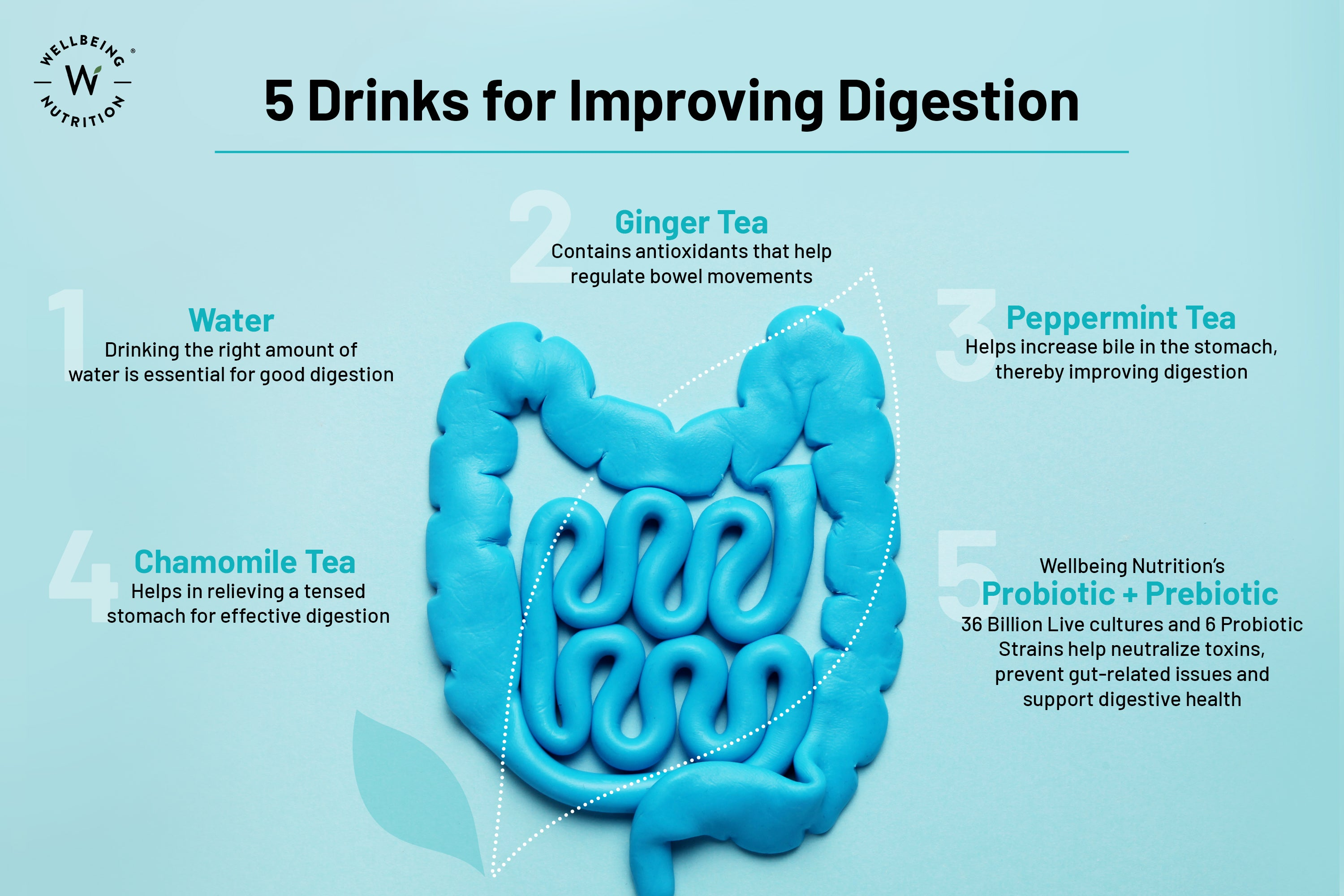 Drinks for Improving Digestion