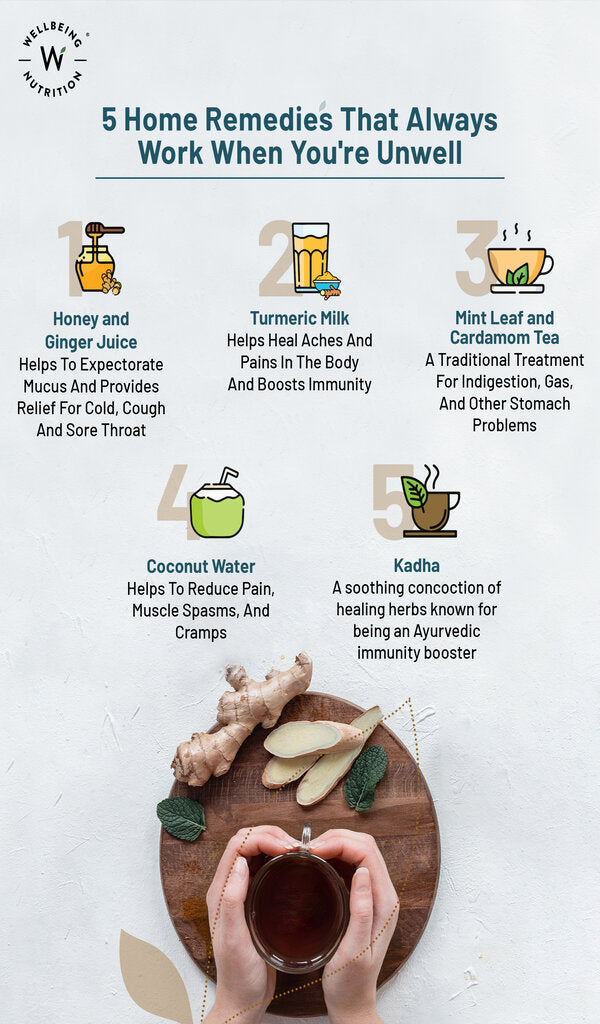 Home Remedies When You're Unwell