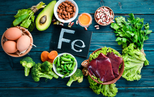 Foods rich in iron