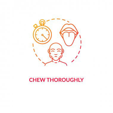 Chew Food Thoroughly