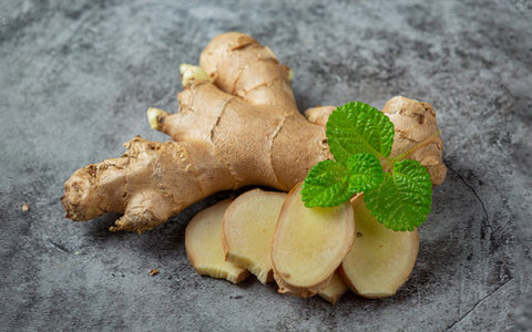 Get Rid of a Cold - Ginger
