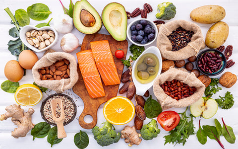 Causes of dry skin - A diet deficient in Omega-3 fatty acids
