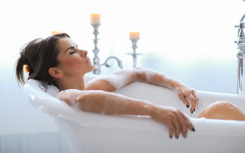 Causes of dry skin - Hot water shower