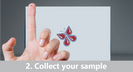 Collect blood sample at home