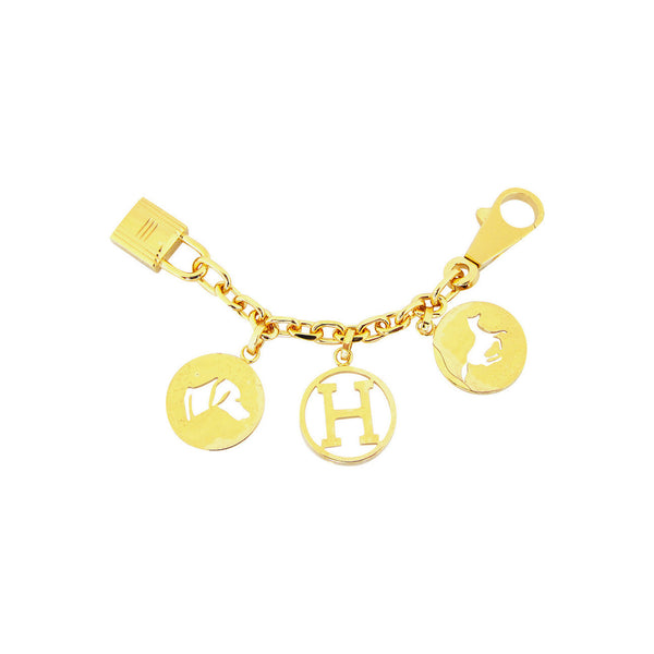 Hermes Gold Breloque Charm for Birkin or Kelly