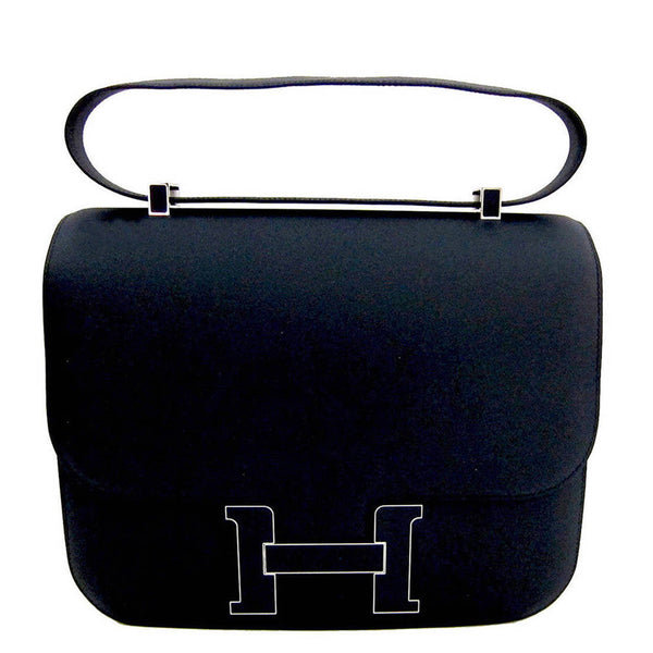 Hermes Constance Cartable Bleu Obscure 29cm Limited Edition VIP