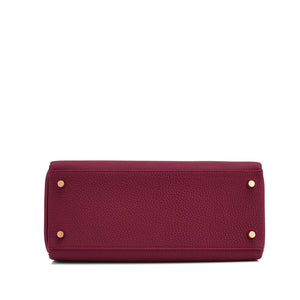 Hermes Bordeaux Kelly 28 cm Togo Gold Hardware