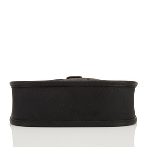 Hermes Black Evelyne TPM Shoulder Cross Body Bag