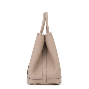 Hermes Gris Tourterelle Garden Party TPM Vache Country Bag