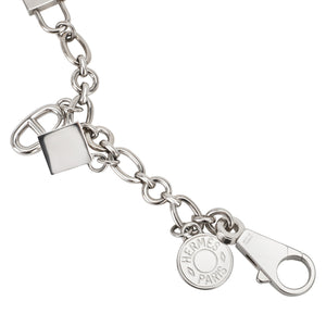 Hermes Silver Olga Charm for Birkin and Kelly Bag