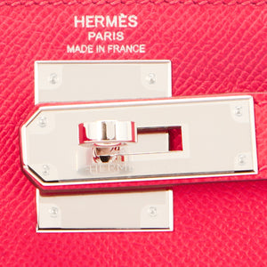 Hermes Kelly 28cm Rose Extreme Epsom Pink Sellier Bag D Stamp, 2019