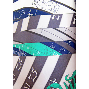 Hermes Astrologie Nouvelle Maxi Twilly Silk Scarf