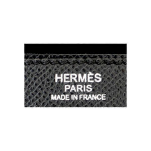 Hermes Black 32cm Epsom Sellier Kelly Palladium Hardware X