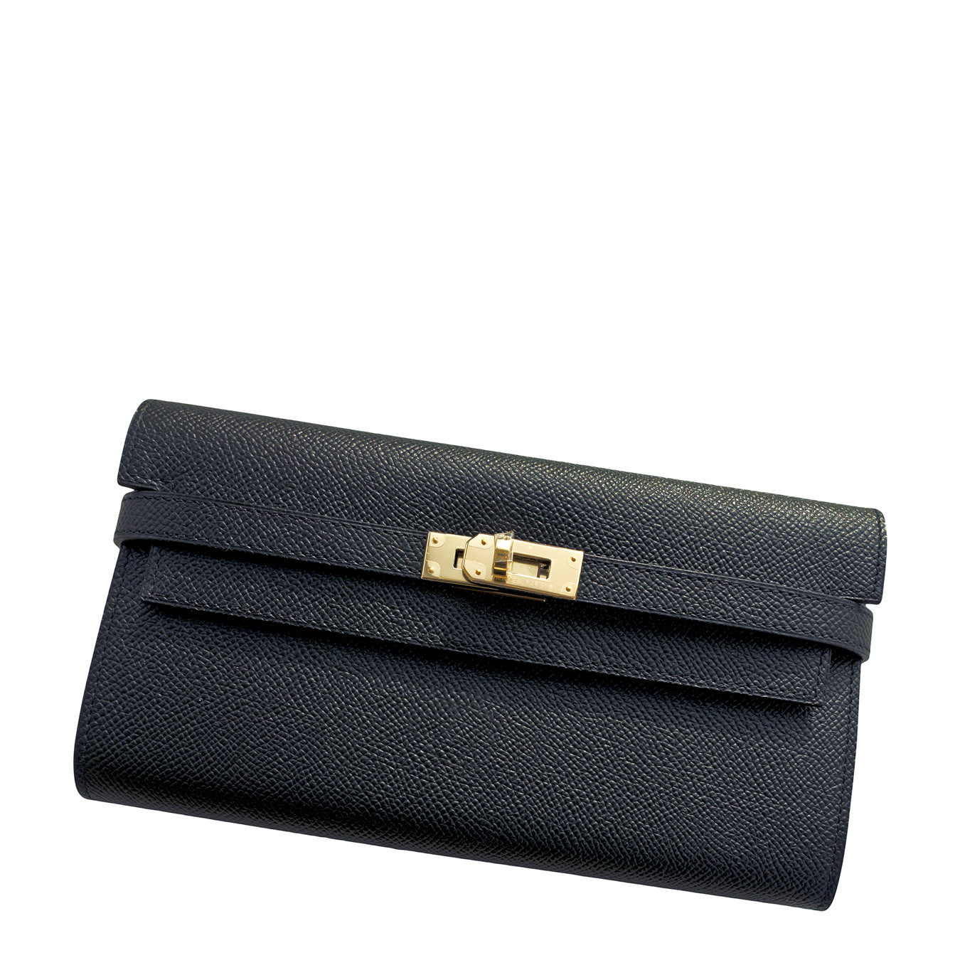 ... coupon hermes black epsom permabrass kelly long wallet clutch super  rare a2bb4 ea752 ... e6f664c9148ab