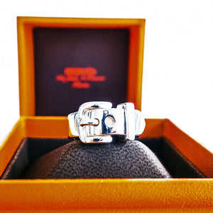 Hermes Debridee Ring Solid Silver PM 54 or 6.5
