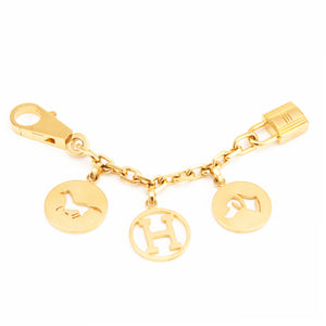 Hermes Breloque Charm Gold Bag Charm for Birkin or Kelly
