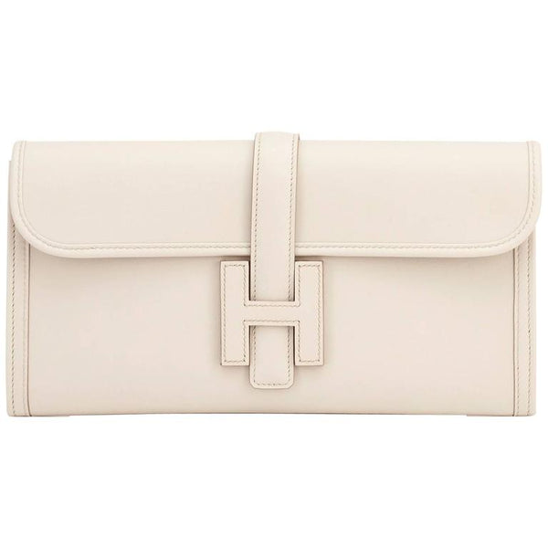 Hermes Beton Jige Elan Swift Cutch Bag 29cm