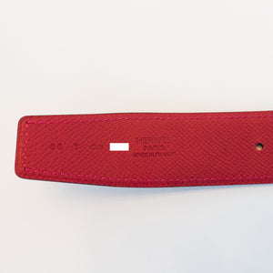 Hermes Rouge Casaque Lipstick Red Rouge H Constance Belt Kit 85cm 32mm Pretty